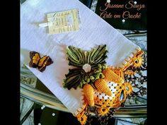 Napkins, Halloween, Fall, Tableware, Youtube, Crochet Motif Patterns, Crochet Octopus, Crochet Fruit, Crochet Dishcloths