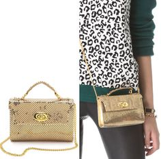 The Chainmail Clutch by Whiting & Davis, from the oldest handbag company in the US..