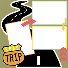 Road Trip Travel Scrapbook Pages, Vacation Scrapbook, Scrapbook Titles, Scrapbook Templates, Disney Scrapbook, Scrapbook Page Layouts, Scrapbook Sketches, Scrapbook Cards, Scrapbooking Ideas