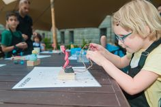 This summer the Rijksmuseum gardens features sculptures by Miró! Come and make your own Miró sculpture at the Teekenschool tent in the Rijksmuseum gardens. https://www.rijksmuseum.nl/en/families-and-children/make-your-own-masterpiece-summer-workshop