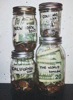 Saving up for a big trip. This is LITERALLY how we do it and it works every time.