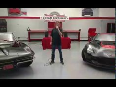 Dreamgiveaway.com presents - These matching Corvettes we gave away! Dream Giveaway, Corvettes, Toys For Boys, Big Boys, Presents, Classic, Gifts, Derby, Corvette