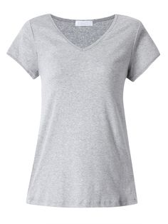Sale 15% (15.28$) - Casual Slim Women Stretch Solid Color V Neck Bottom T-Shirt
