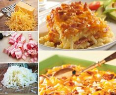 Potato Bacon Casserole Recipes Quick Video
