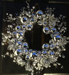 Beautiful wreath for just the right door.
