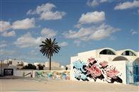 """""""Bienvenue à Djerbahood"""" Erriyadh - Djerba - Tunisie - 2014"""