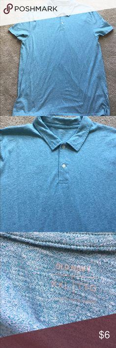 Old Navy XXL polo Old Navy XXL polo, heathered light blue Old Navy Shirts Polos