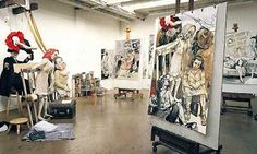 Artists' studios: Paula Rego