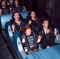 george and matty on a rollercoaster<<OH MY GOD MATTY YOUR HAIR!!! YOUR LIKE A FUCKING PRINCE CHARMING