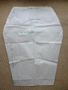 Jersey Pencil Skirt tutorial | Sleek Silhouette