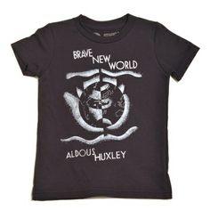 Bookish - Brave New World T-Shirt (Kid's), £16.00 (http://www.bookishengland.co.uk/brave-new-world-t-shirt-kids/)