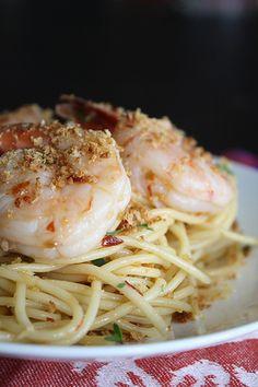 Spicy Pasta with Shrimp