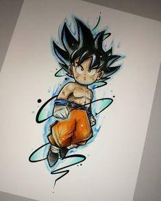 Dragon ball HairStyles up do hairstyles for short hair Dragon Ball Gt, Disney Drawings, Art Drawings, Cartoon Tattoos, Desenho Tattoo, Anime Art, Manga Anime, Character Design, Sketches