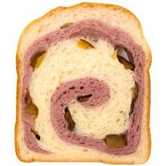 ホームベーカリーを使った「紫芋と栗の渦巻き食パン」のレシピ。ホームベーカリーを使って巻き込み成形のパンが作れるレシピのご紹介!パン作りの材料はサイト内でお買い求めいただけます。