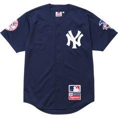 New York Yankees™/Supreme/Majestic® Baseball Jersey