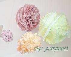 diy: pompones