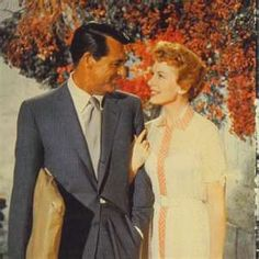 """""""An Affair to Remember"""" one of my favorite movies ever - Cary Grant and Deborah Kerr"""