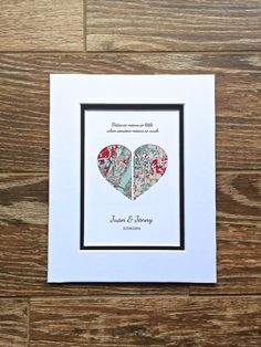 Distance Means So Little...Long Distance Relationship Gift Long Distance Friendship, Long Distance Relationship Gifts, Long Distance Gifts, Distance Relationships, Birthday Gifts For Boyfriend, Boyfriend Gifts, Going Away Gifts, Diy Mothers Day Gifts, Paper Anniversary