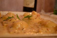 Gnocchi di patate in salsa al Pecorino Sardo, Lorenzo