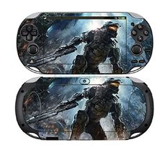 Halo Wars 404 Vinyl Skin Sticker Cover Protector for Sony Playstation PS Vita…