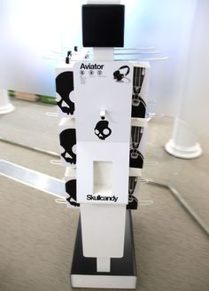 Skullcandy display by ARNO Group