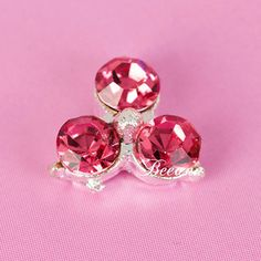 2014 newest trend clovers nail art art,silver plated nail art with red zircon nail art sticker