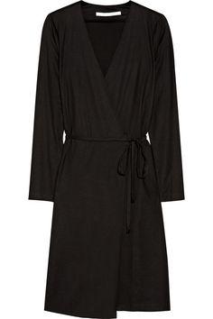 Diane von Furstenberg Terrazzo silk and cotton-blend wrap dress