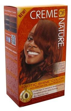 Creme Of Nature Color 7 64 Bronze Copper Exotic Shine 2 Pack Beauty