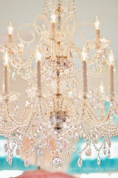 Many traditional and classic homes have a chandelier.