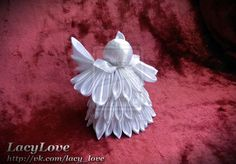 Handmade angel for Christmas tree. FOR SALE by Onatra on deviantART