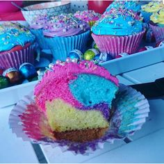 Marbled Cupcakes