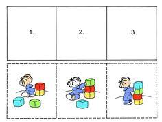 Autismus Arbeitsmaterial: Tolle Handlungssequenzen