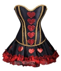 http://www.ebay.com/itm/Sexy-Queen-Of-Hearts-Corset-Costume-Mini-Skirt-punk-Size-S-2XL-Outfit-MMS-A2830-/141166934713