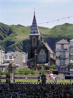 Ilfracombe, North Devon coast, England where my maternal grandfather was born