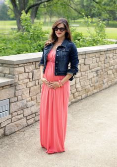 Summer Maternity, Maxi Dress, Pregnancy Style, @Jessica Quirk | What I Wore