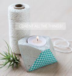#diy cement planter