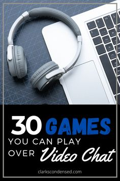Looking for a fun way to play games with family and friends from afar? Here are over 30 awesome and fun games you can play on FaceTime, Skype, Zoom…There are so many classic games that don't require a board, dice, or cards. These games are perfect to play online. Get the group on the video conference call at the agreed time and The Escape Game host will guide you through the virtual escape game challenge! #onlinegame #game #gamer #gaming #games #online #mmorpg #scr #ps #onlinegaming #fun…