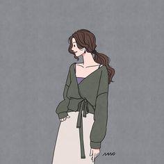 21 ideas drawing cute sketches cartoon for 2019 Korean Illustration, Illustration Girl, Character Illustration, Cute Sketches, Cute Drawings, Girl Cartoon, Cartoon Art, Cute Couple Art, Korean Art