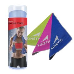 A microfiber chilling towel to keep you feeling clean and cool while you run.