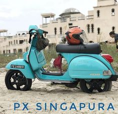 Love those Vespa GTS wheels on Vespa PX200 #Vespapx200 #vespapxseries #vespapx #vespasingapore @pxsingapura #pxvespa #pxsingapura…