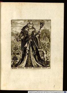 Vanité - Emblemata saecularia de Théodore de BRY