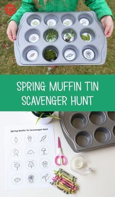 Spring is on its way — even if the weather doesn't agree! Ring in the season with a scavenger hunt that encourages the kiddos to observe and appreciate the nature around them. Toddler Scavenger Hunt, Preschool Scavenger Hunt, Outdoor Scavenger Hunts, Nature Scavenger Hunts, Scavenger Hunt For Kids, Water Games For Kids, Outdoor Activities For Kids, Outdoor Learning, Summer Activities For Kids