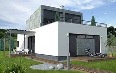 Typový dům Single plus od APEX ARCH s.r.o. Garage Doors, Mansions, House Styles, Outdoor Decor, Home Decor, Decoration Home, Manor Houses, Room Decor, Villas