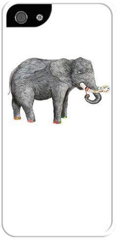 Sanatçı fil Kendin Tasarla - İphone 55S Kılıfları