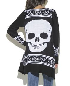 Aztec Skull Wrap from Wet Seal