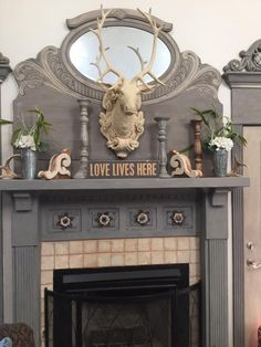 Artist Angela Leachman chose Artisan Enhancements Clear Topcoat Sealer to protect the gorgeous new paint finish she had created on her fireplace mantle.  Clear Topcoat Sealer is heat resistant and has a beautiful matte finish.  It is also easy to apply and contains no hazardous chemicals or harmful odors.