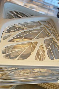 model: abu dhabi performing arts centre, abu dhabi, uae | Flickr - Photo Sharing! Biomimicry Architecture, Architecture Concept Diagram, Architecture Design, Architectes Zaha Hadid, Zaha Hadid Architects, Zaha Hadid Design, Composition Art, Futuristic City, Harbin