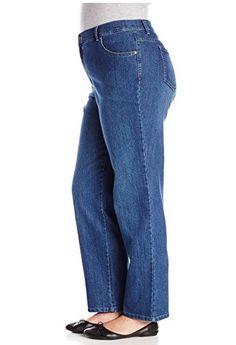 Gloria Vanderbilt Women's Plus-Size Amanda Tapered Leg Jean, Phoenix, 18W Short! All colors
