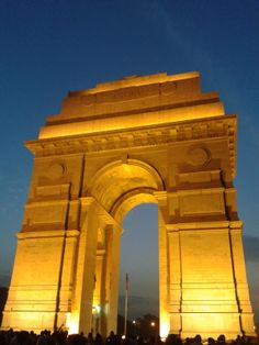 Must visit India Gate, All India war memorial in Delhi !!!! Recommended  by http://www.hotellohias.com/