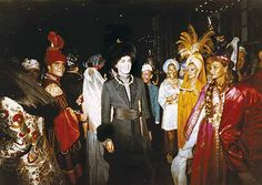 The Baron de Redé in the middle at the Oriental ball in 1969.[1] Photo by Patrick Anson, 5th Earl of Lichfield.